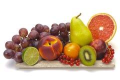 Frutos misturados frescos fotografia de stock