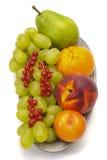 Frutos misturados frescos imagens de stock
