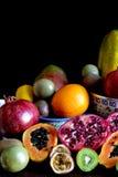 Frutos misturados frescos Imagem de Stock Royalty Free