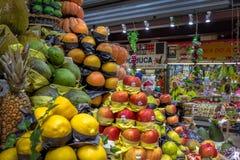 Frutos no Municipal municipal de Mercado do mercado em Sao Paulo do centro - Sao Paulo, Brasil Foto de Stock