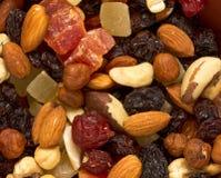 Frutos Nuts e secados Fotos de Stock