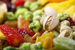 Frutos & porcas coloridos da mistura Fotografia de Stock Royalty Free