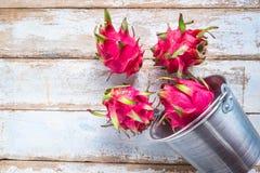 Frutos saudáveis do dragão fotografia de stock