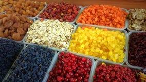 Frutos secados Fotografia de Stock