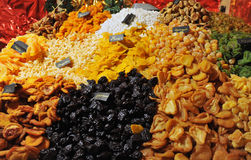Frutos secos Imagen de archivo libre de regalías