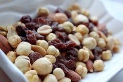 Frutos secos Foto de archivo libre de regalías