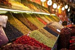 Frutos secos coloridos imágenes de archivo libres de regalías