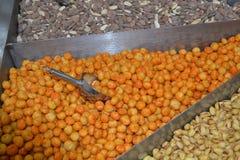 Frutos secos da mistura doce Imagens de Stock
