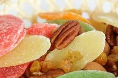 Frutos secos e porcas Foto de Stock
