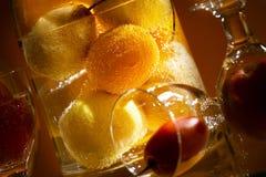 Fruts и стекло Стоковое Изображение