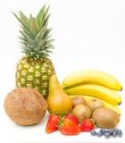 Frutta allegra, frutta mixed Fotografia Stock