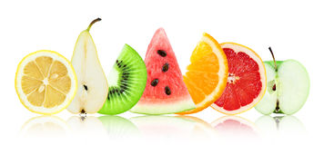 Frutta allegra, frutta mixed Immagine Stock Libera da Diritti