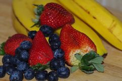 Frutta allegra, frutta mixed Immagini Stock