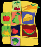 Frutta & verdure Fotografia Stock Libera da Diritti
