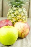 Frutta, Apple Fotografie Stock Libere da Diritti