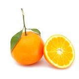 Frutta arancio Immagini Stock