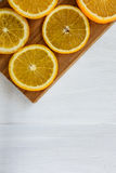 Frutta arancio Fotografia Stock