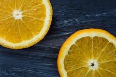 Frutta arancio Fotografia Stock Libera da Diritti