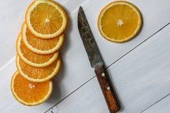 Frutta arancio Immagine Stock