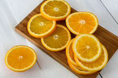 Frutta arancio Fotografie Stock