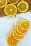 Frutta arancio Fotografie Stock Libere da Diritti
