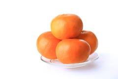 Frutta arancio di fortuna durante il nuovo anno cinese Fotografie Stock Libere da Diritti