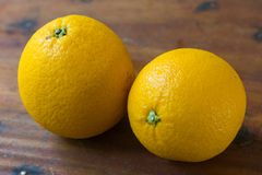 Frutta arancio per sano e vitamina C Immagine Stock Libera da Diritti