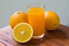 Frutta arancio per sano e vitamina C Fotografie Stock