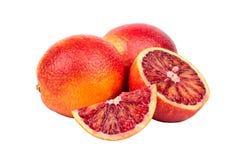 Frutta arancio siciliana Fotografia Stock Libera da Diritti