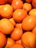Frutta arancione fresca Fotografia Stock Libera da Diritti