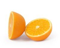 Frutta arancione isolata Immagine Stock Libera da Diritti