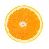 Frutta arancione isolata Fotografia Stock