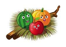 Frutta arrabbiata Fotografie Stock