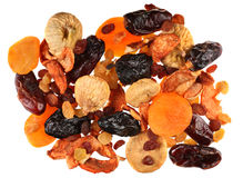 Frutta asciutta della miscela Immagini Stock Libere da Diritti