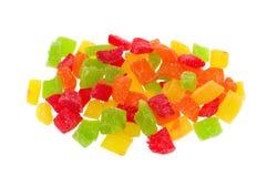 Frutta candita Multi-coloured Fotografia Stock Libera da Diritti
