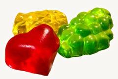 Frutta celebratoria che candyinking immagine stock