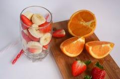 Frutta cocktail Fotografie Stock