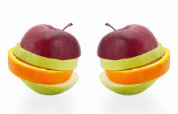 Frutta creativa Immagine Stock