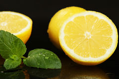 Frutta dei limoni Immagini Stock Libere da Diritti