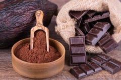 Frutta del cacao immagine stock