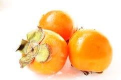 Frutta del cachi Fotografia Stock Libera da Diritti