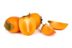 Frutta del cachi Fotografie Stock