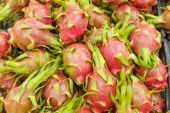 Frutta del drago del primo piano Fotografia Stock