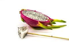 Frutta del drago isolata Fotografia Stock Libera da Diritti