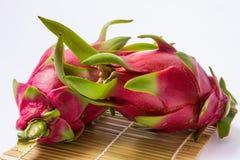 Frutta del drago isolata Fotografia Stock