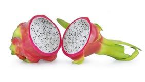 Frutta del drago isolata su bianco immagine stock