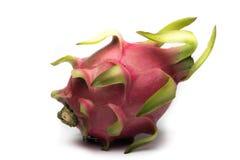 Frutta del drago su priorità bassa bianca Immagini Stock Libere da Diritti