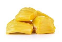 Frutta del Jack su priorità bassa bianca Immagine Stock Libera da Diritti