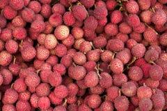Frutta del litchi Fotografie Stock Libere da Diritti