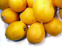 Frutta del Loquat Fotografie Stock